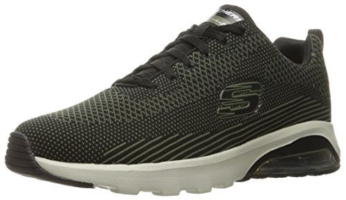 Skechers Men''s olive Trainers Black Air Skech Black extreme rrqwRd7