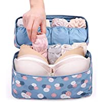 Women Travel Storage Bag Portable Protect Bra Underwear Bag
