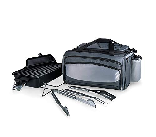 - ОNIVА - а Picnic Timе brаnd Premium Vulcan All-in-One Tailgating Cooler/BBQ Set