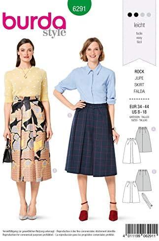 Burda 6291 Patron de couture pour jupes 34-44