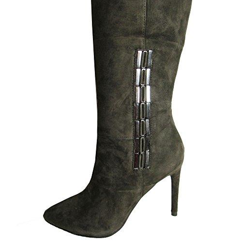 ... Dolce Vita Kvinners Inara Riding Boot Antrasitt ...