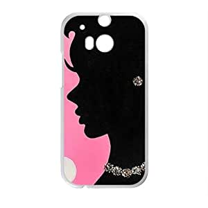 Beautiful mature lady Cell Phone Case for HTC One M8
