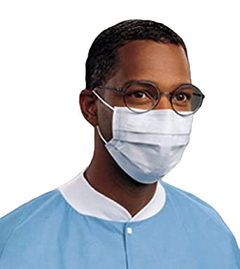 Fog-free Procedure pack Of 10 62362 Halyard Blue Health Mask
