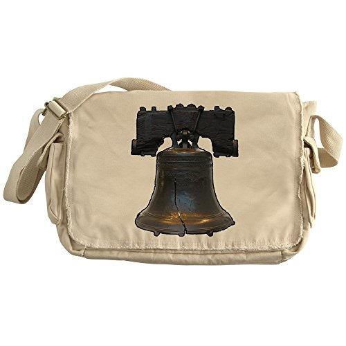 (CafePress - Liberty Bell - Philly - Philadelphia - America - U - Unique Messenger Bag, Canvas Courier Bag)
