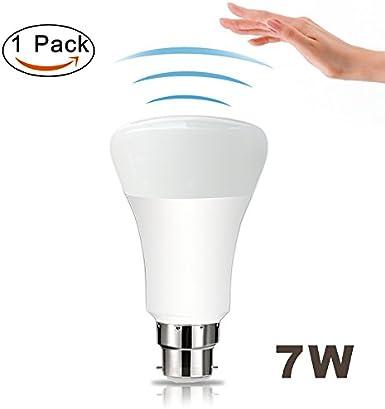 360 ° Sensor de movimiento detector de luz bombilla – B22 7 W ...