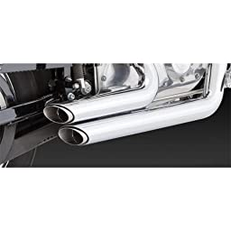 Vance & Hines Shortshots Staggered Exhaust System - Chrome
