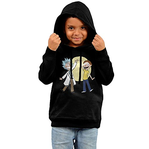 - Rick And Morty Gather Lovely Cotton Hooded Sweatshirts For Toddler Boy Girl