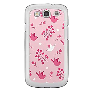 Loud Universe Samsung Galaxy S3 Love Valentine Printing Files A Valentine 24 Printed Transparent Edge Case - Pink