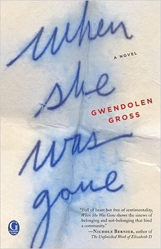When She Was Gone Gwendolen Gross 9781451684742 Amazon Books