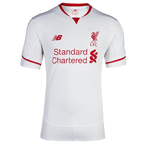 10 Liverpool Away Jersey - New Balance Liverpool Youth Away Jersey [White] (S)