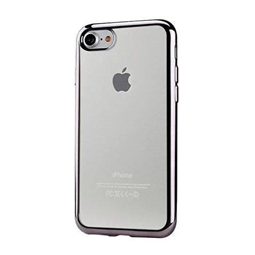 deinphone Apple iPhone Chrome 7Coque en silicone/anthracite