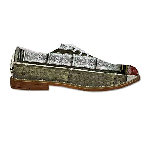 YOLIYANA Shutters Decor Men's Dress Shoes,European for sale  Delivered anywhere in Canada