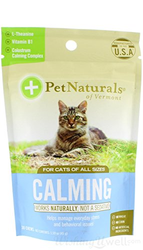 Calming for Cats, Behavioral Support Supplement, 30 Bite Sized Soft Chews