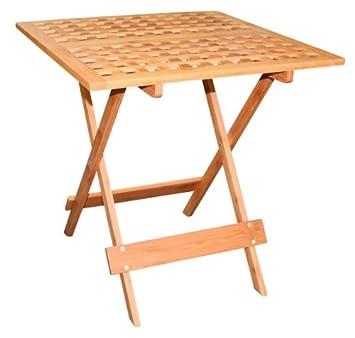 tavolo pieghevole da giardino in bambù - piccolo tavolo da ... - Tavolo Da Giardino Piccolo