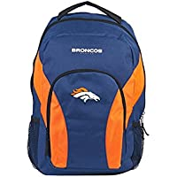 The Northwest Officially Licensed NFL Draftday Backpack (Navy and Orange)