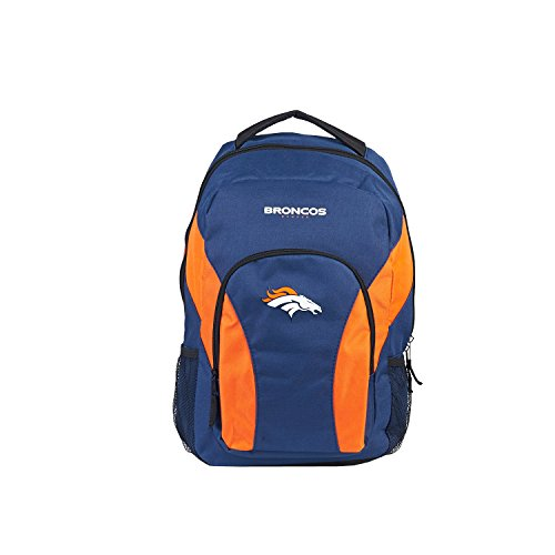 NFL Denver Broncos DraftDay Backpack, 18-Inch, (Broncos Office Accessories)