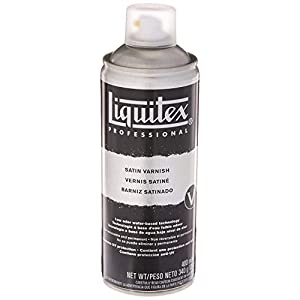 Liquitex Professional Gloss Varnish, 4-oz (6204), 4oz, Clear