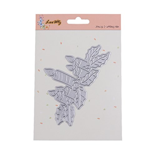Susada Candles Shaped Metal Cutting Dies Stencils DIY Scrapbook Album Paper Card Crafts