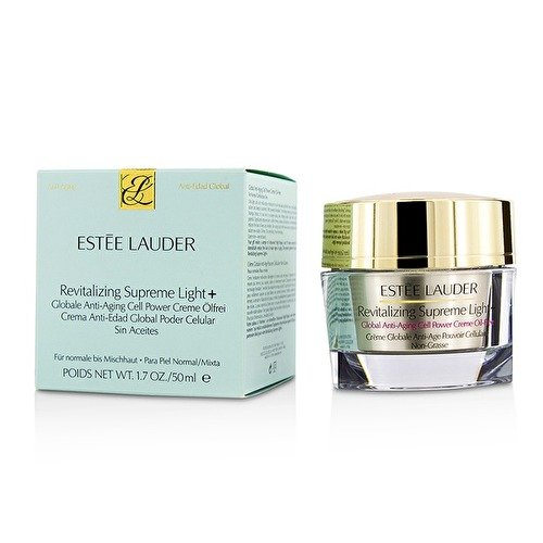 Estee Lauder Revitalizing Supreme light +Global Anti-Aging Cell Power Creme Oil-Free 50ml/1.7oz ()