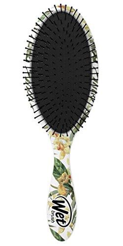 Wet Brush Hair Brush Detangler, Yellow Floral, 0.2 Pound