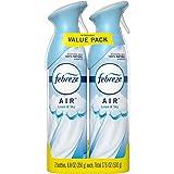 Febreze Air Freshener Spray, Linen & Sky, Odor Eliminator for Strong Odors, 8.8 Oz (2 Count)