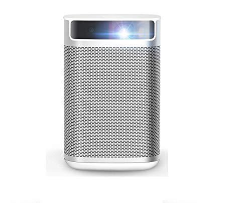 XGIMI MOGO Pro, True 1080P Full HD, 300 ANSI Lumen (2500 – 3000 Lumen) Smart Mini Portable Projector, Android TV 9.0, Harman/Kardon Speakers, 30,000 Hours Lamp Life- The Only 1080P Android TV Portable Projector