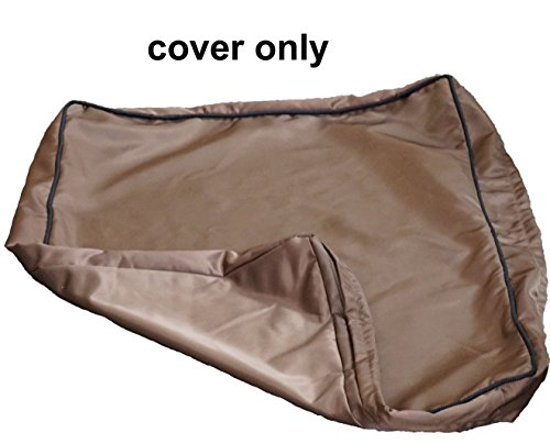PetBed4Less Deluxe Dog Bed Pet Bed Chew Resistant and Removable Zipper Covers
