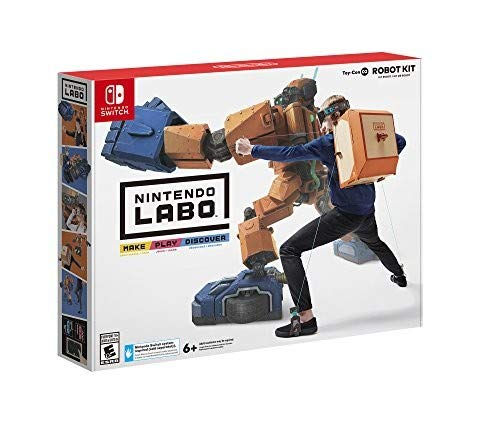 Play Guitar Game - Nintendo Labo - Robot Kit