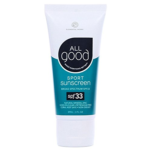 All Good Sunscreen Lotion SPF 33 Sport, 3 oz