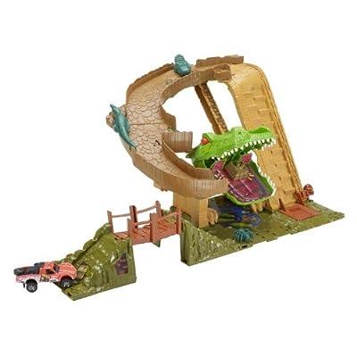 Matchbox Mission: Croc Escape Playset: Toys & Games