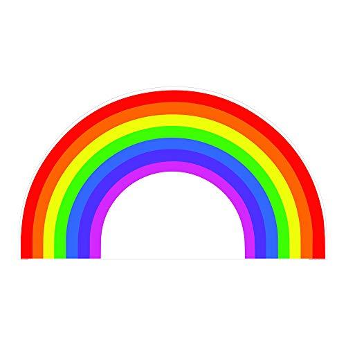 SC1030 Rainbow Cardboard Cutout