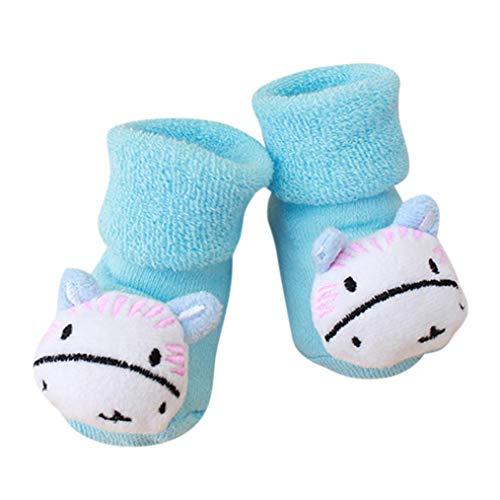 1ans G De Antidérapantes Enfants chausson Filles Hippo Dessin Né Garçons Bzline Bleu Nouveau Animé Bébé 0 Pour Chaussettes Bottes awqf5AZ