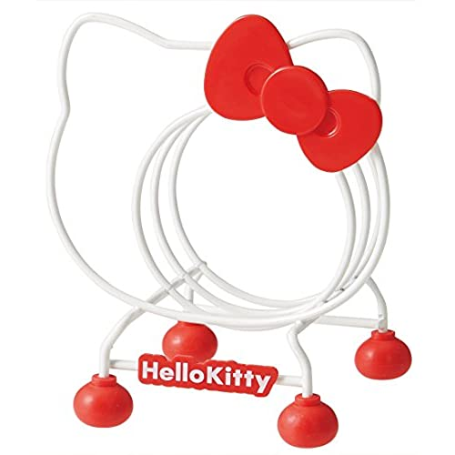 Hello Kitty Wire Cutting Board Organizer Stand Rack Plates From Japan