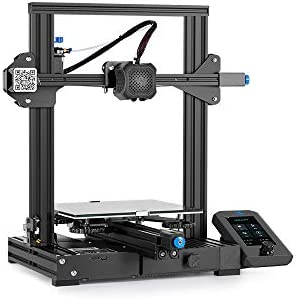 Official Creality 3-D Printer Ender 3 V2 Upgraded with Silent Motherboard Meanwell Power Supply Carborundum Glass Platform and Resume Printing 220x220x250mm