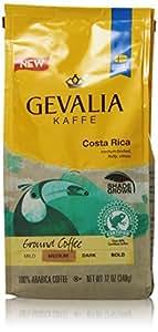 GEVALIA Costa Rica Coffee, Medium Roast, Ground, 12 Ounce