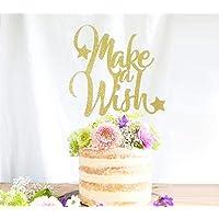 Make a Wish Cake Topper, Twinkle Twinkle Little Star Cake Topper, Baby Shower Cake Topper, First Birthday Cake, Twinkle Little Star Party