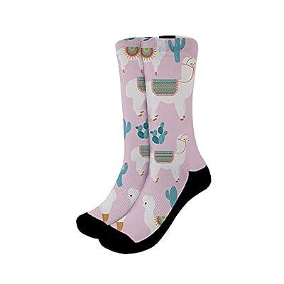 Mumeson Women Men Novelty Casual Socks Patterned Cool Cotton Crew Dress Funny Socks -
