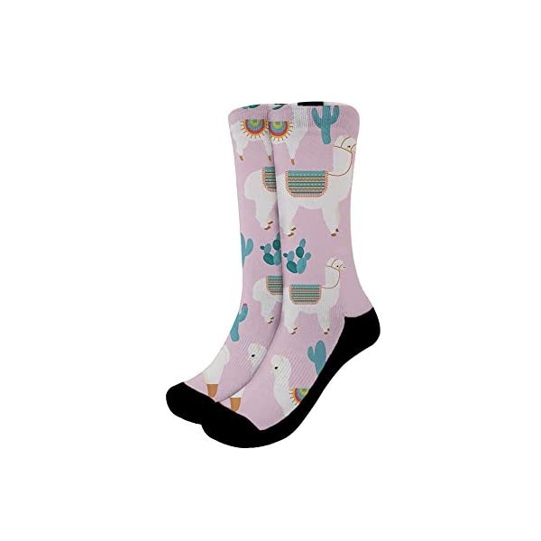 Mumeson Women Men Novelty Casual Socks Patterned Cool Cotton Crew Dress Funny Socks -