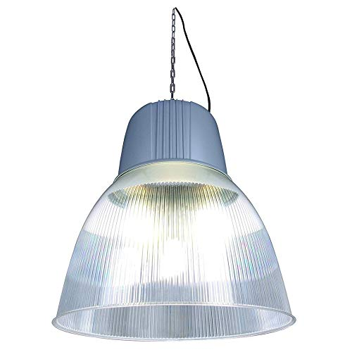 Lámpara colgante para Dome 2 hqi-bt 250 W/400 Silbergrau ...