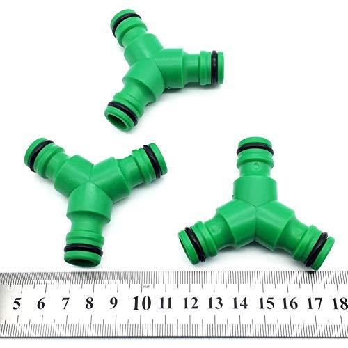 Laliva 20 Piezas 1/2 Quick Fit Conector de riego Tipo Y 3 ...