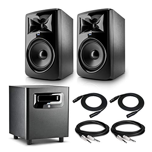 JBL Powered Two Way Monitors Subwoofer product image