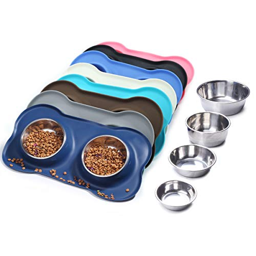Vivaglory Dog Bowls Stainless