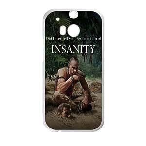 HTC One M8 Cell Phone Case White Far Cry 3 Vass SLI_688516