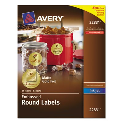 Round Print-to-the-Edge Labels, 2