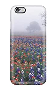 Durable Case For The Iphone 6 Plus- Eco-friendly Retail Packaging(misty Flower Beds Photography Scenic People Photography) wangjiang maoyi