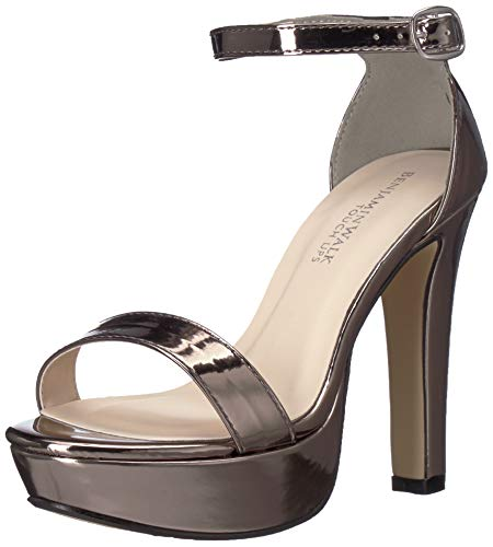 Touch Ups Women's Mary Heeled Sandal Pewter 9.5 M US ()