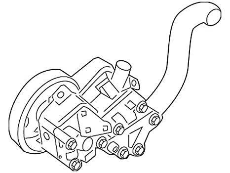 Amazon Com Nissan 49110 Zx01b Power Steering Pump Assembly Automotive