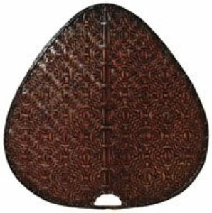 Fanimation PAD1A Wide Oval Bamboo Palisade Blade, 22-Inch, Antique, Set of 8 by Fanimation
