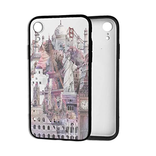 (Architectural-Landmarks Case for iPhone XR Mens iPhone XR Cases for Women Girls Men Funny Cute)