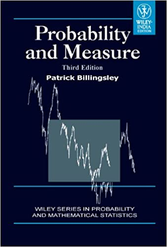 Probability and measure patrick billingsley 9788126517718 probability and measure patrick billingsley 9788126517718 amazon books fandeluxe Choice Image